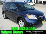 2009 Royal Blue Pearl Honda CR-V EX-L #26673154