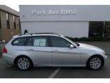 2007 Titanium Silver Metallic BMW 3 Series 328xi Wagon #26672868