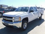 2010 Chevrolet Silverado 2500HD Crew Cab 4x4 Chassis Data, Info and Specs