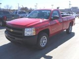 2010 Victory Red Chevrolet Silverado 1500 Regular Cab #26673461