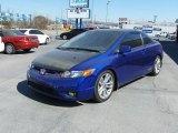 2007 Royal Blue Pearl Honda Civic Si Coupe #26672891