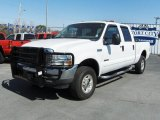 2004 Oxford White Ford F250 Super Duty XLT Crew Cab 4x4 #26672893