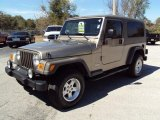 2006 Light Khaki Metallic Jeep Wrangler Unlimited 4x4 #26673475