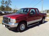 2002 Toreador Red Metallic Ford F250 Super Duty SuperCab #26673478