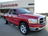 2006 Flame Red Dodge Ram 1500 SLT Quad Cab #26673371