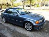 2002 Steel Blue Metallic BMW 3 Series 330i Convertible #26743850