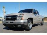 2006 Sandstone Metallic Chevrolet Silverado 1500 Extended Cab #2669295