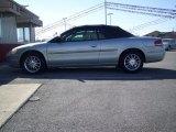 2002 Brilliant Silver Metallic Chrysler Sebring Limited Convertible #26743859