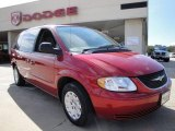 2003 Inferno Red Pearl Chrysler Town & Country LX #26744117