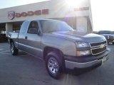 2006 Graystone Metallic Chevrolet Silverado 1500 LS Extended Cab 4x4 #26744119