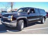 2005 Black Chevrolet Silverado 1500 Z71 Extended Cab 4x4 #26743915