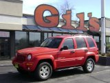 2002 Flame Red Jeep Liberty Limited 4x4 #26743948