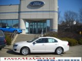 2010 White Platinum Tri-coat Metallic Ford Fusion Hybrid #26778014
