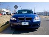 2007 Montego Blue Metallic BMW 3 Series 328i Sedan #26777887