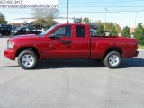 2010 Inferno Red Crystal Pearl Dodge Dakota ST Extended Cab #26778559