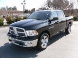 2010 Brilliant Black Crystal Pearl Dodge Ram 1500 Big Horn Crew Cab 4x4 #26778580