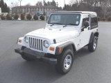 2006 Stone White Jeep Wrangler Sport 4x4 Right Hand Drive #26778611