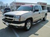 2005 Silver Birch Metallic Chevrolet Silverado 1500 LT Extended Cab 4x4 #26778298