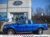 2010 Blue Flame Metallic Ford F150 FX4 SuperCab 4x4 #26778009