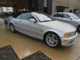 2001 Titanium Silver Metallic BMW 3 Series 330i Convertible #26832410