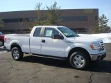 2010 Oxford White Ford F150 XLT SuperCab 4x4 #26832119