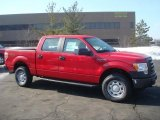2010 Vermillion Red Ford F150 XL SuperCrew 4x4 #26832122