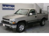 1999 Light Pewter Metallic Chevrolet Silverado 1500 LS Regular Cab 4x4 #26832443