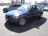 2003 Mystic Blue Metallic BMW 3 Series 325i Sedan #26831981