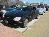 2000 Mercedes-Benz SLK Black