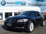 2009 Jet Black BMW 3 Series 335xi Sedan #26832006