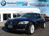 2009 Jet Black BMW 3 Series 335xi Sedan #26832007