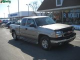 2003 Light Pewter Metallic Chevrolet Silverado 1500 Z71 Extended Cab 4x4 #26832188