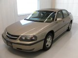 2001 Sandrift Metallic Chevrolet Impala LS #26832494