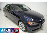 2007 Monaco Blue Metallic BMW 3 Series 335i Sedan #26832231