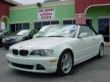 2004 Alpine White BMW 3 Series 330i Convertible #26881772
