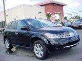 2006 Super Black Nissan Murano S #26881775