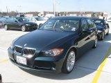 2007 Deep Green Metallic BMW 3 Series 335i Sedan #26881783