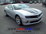2010 Silver Ice Metallic Chevrolet Camaro SS/RS Coupe #26881794