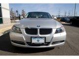2007 Titanium Silver Metallic BMW 3 Series 335xi Sedan #26881333