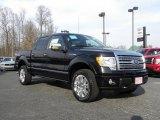 2010 Tuxedo Black Ford F150 Platinum SuperCrew 4x4 #26881620