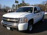 2009 Summit White Chevrolet Silverado 1500 LT Crew Cab 4x4 #26881367