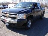 2009 Black Chevrolet Silverado 1500 LT Crew Cab 4x4 #26881370
