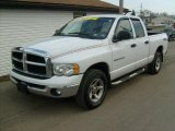 2003 Bright White Dodge Ram 1500 SLT Quad Cab 4x4 #26881651