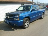 2003 Arrival Blue Metallic Chevrolet Silverado 1500 SS Extended Cab AWD #26881655