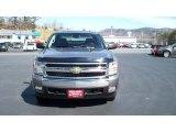 2008 Graystone Metallic Chevrolet Silverado 1500 LT Crew Cab 4x4 #26881855