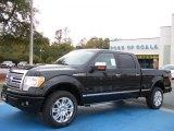2010 Tuxedo Black Ford F150 Platinum SuperCrew 4x4 #26881531