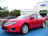 2010 Sangria Red Metallic Ford Fusion SEL V6 #26881535