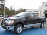 2010 Tuxedo Black Ford F150 XLT SuperCab #26881539