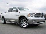 2010 Stone White Dodge Ram 1500 Laramie Crew Cab 4x4 #26881416