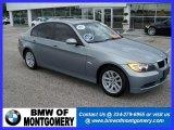 2007 Space Gray Metallic BMW 3 Series 328i Sedan #26881693